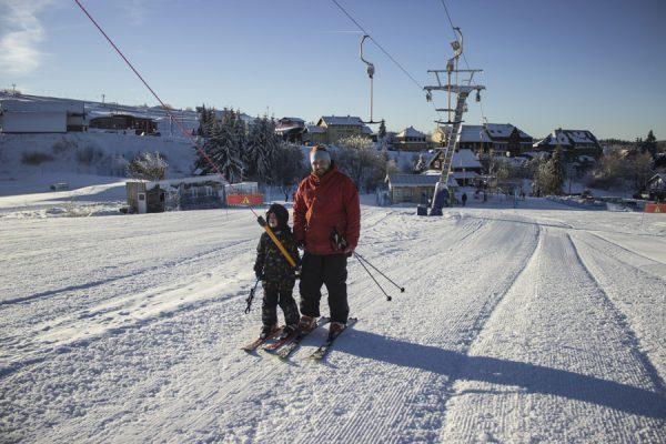 Nové zázemí pro dětskou lyžařskou školu